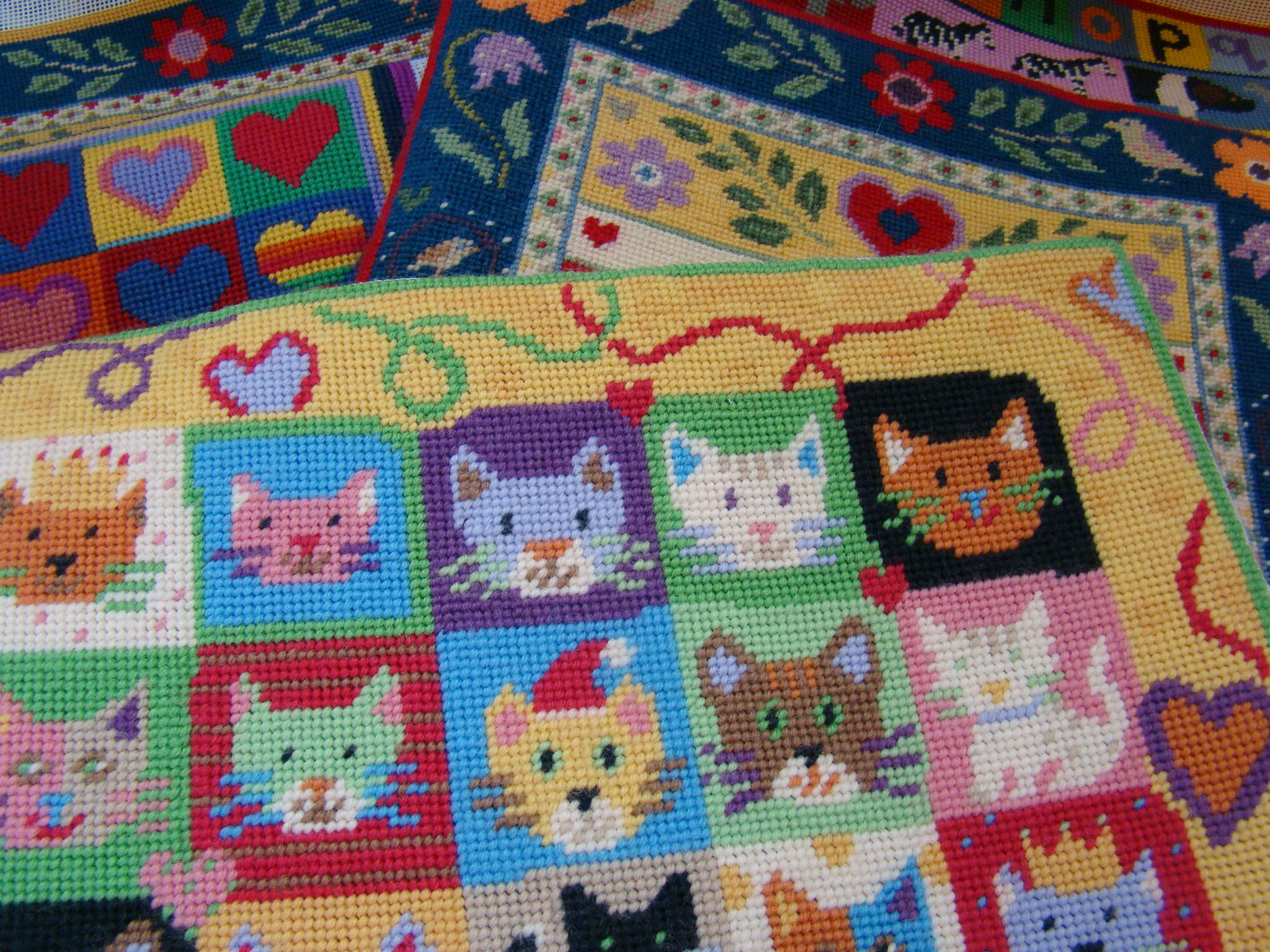Jolly Red Tapestry Kits Cushions Samplers And Christmas Stockings Tapestry Kits Red Tapestry Cross Stitch