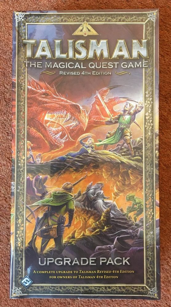 TALISMAN Revised 4th Edition UPGRADE PACK 2008 Fantasy