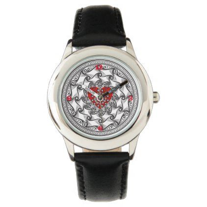 LoveDesign Stainless Steel & Leather Child Watches