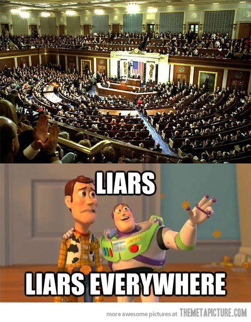 The U S Congress Haha Funny Jokes Liar