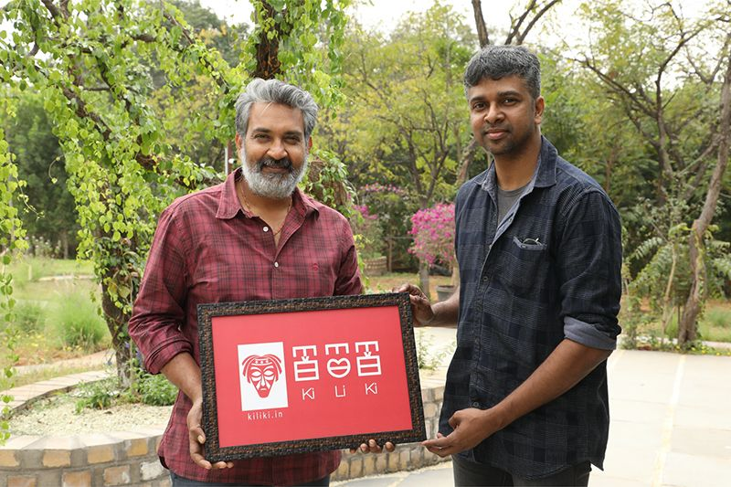 Director SS Rajamouli introduced Baahubali's 'Kiliki language' created by Madhan Karky