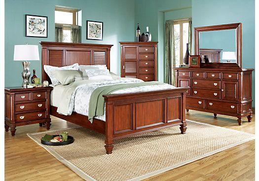Belmar King Dark Pine 5Pc Panel Bedroom   King bedroom sets ...