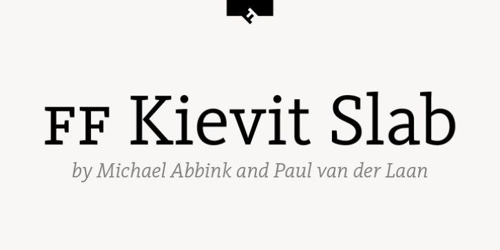 kievit pro medium font free download