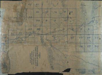 Map Of Arizona Land Ownership.1917 Maricopa County Arizona Land Ownership Plat Maps Maricopa