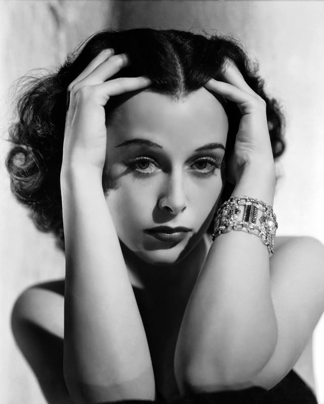 Hedy Lamarr, 1938.  Photographer: George Hurrell.