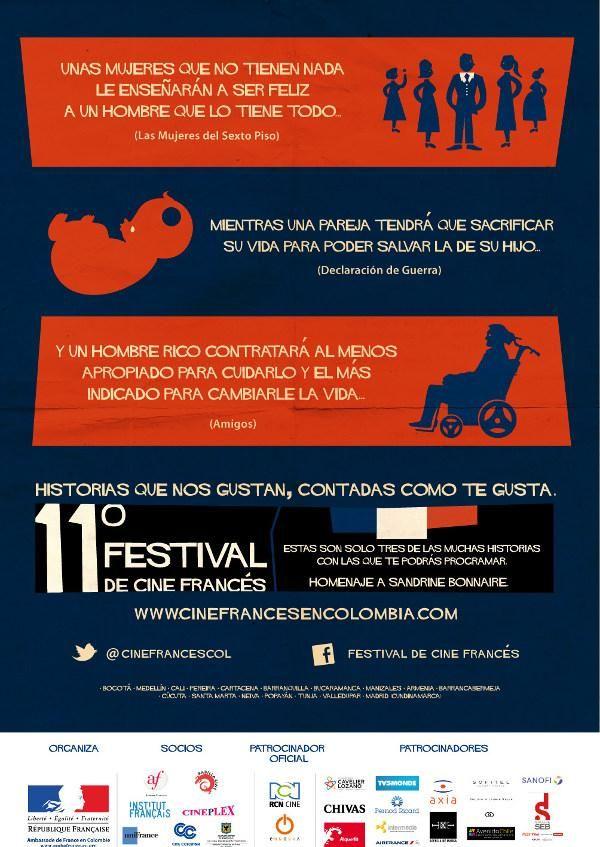 Llega el XI Festival de Cine Francés 2012