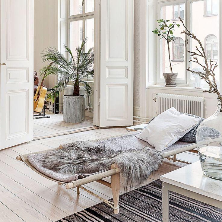 Safari daybed in natural use inside or outside free shipping minimalisticinterior also rh za pinterest