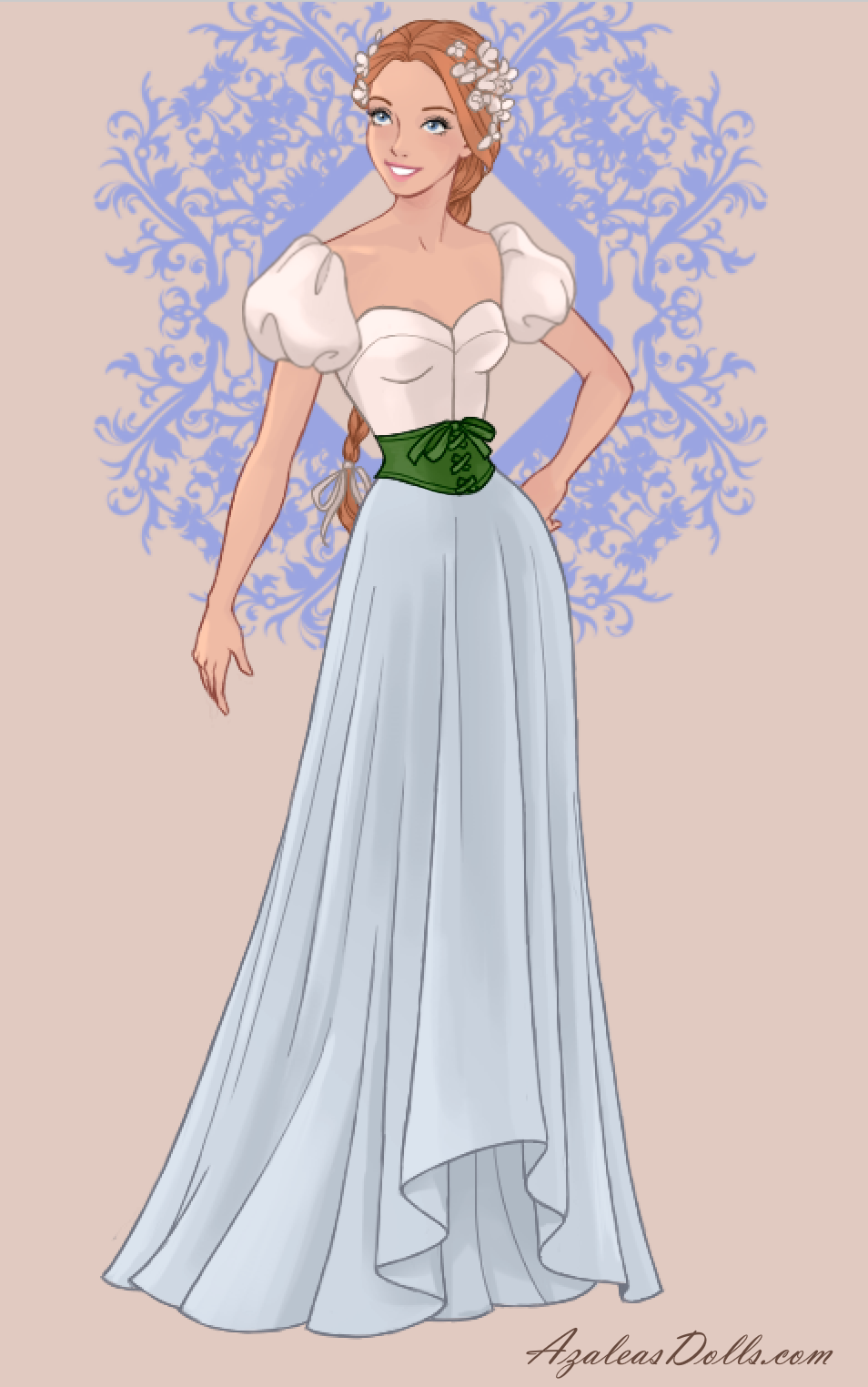 Thumbelina In Wedding Dress Design Dress Up Game Disney Princess Fashion All Disney Princesses Modern Princess