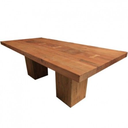 HOME TRENDS AND DESIGN TAO NATURAL DINING TABLE | Gallery Furniture ...