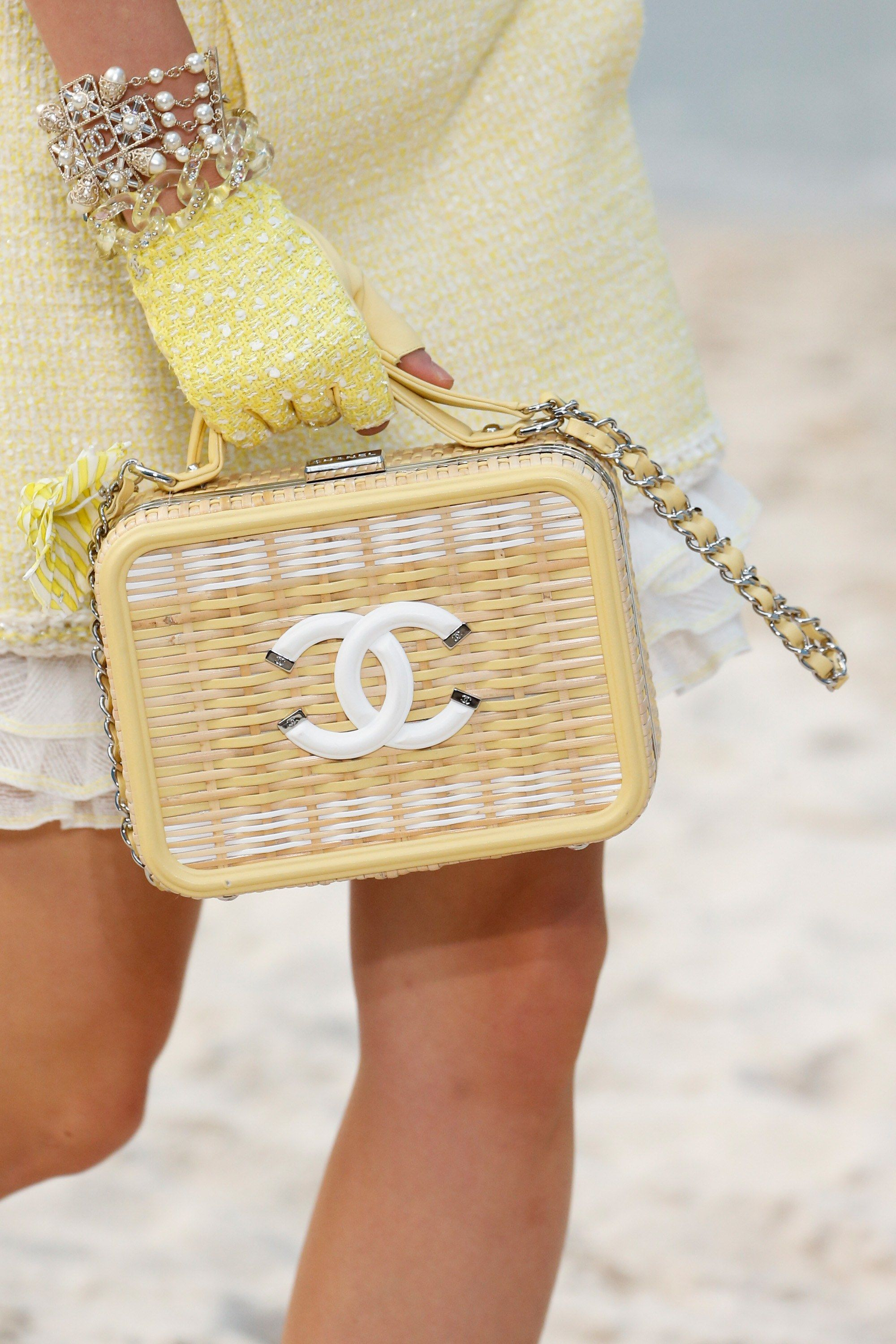 19ab9c65ff59 Chanel Spring Summer 2019 Runway Bag Collection - Chanel By The Sea ...