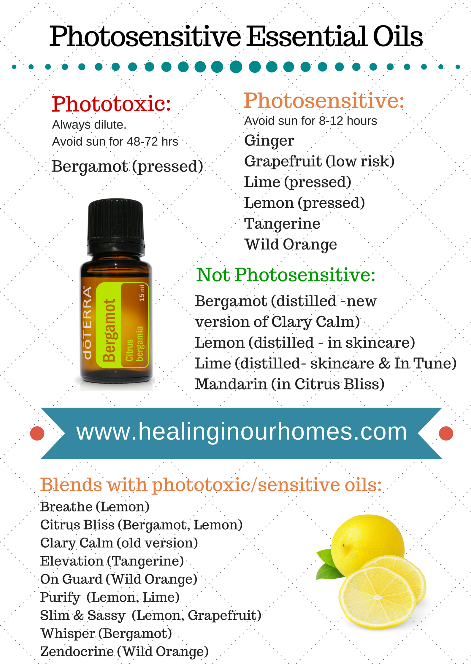 Here are some guidelines for which oils to avoid for sun-exposed skin.
