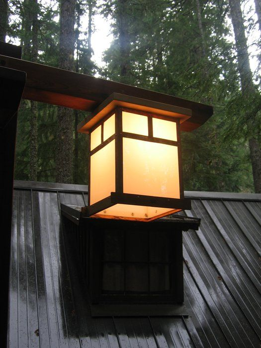 Images Of Craftsman Light Posts Craftsman Lamp Post With Copper Light By Rainymountcraftsman Copper Lighting