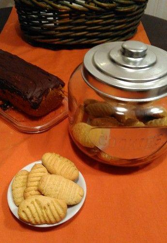 Biscoitos de limão vs Bolo de cenoura com cobertura de chocolate