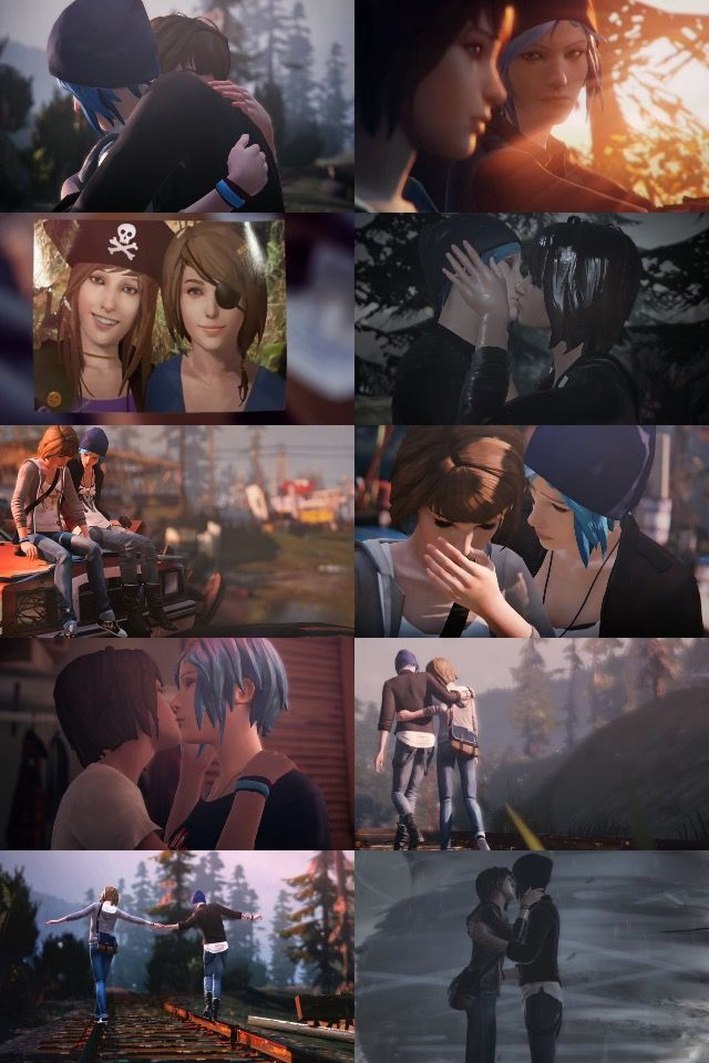 Pricefield ♡ (Chloe Price & Max Caulfield - Life is Strange)