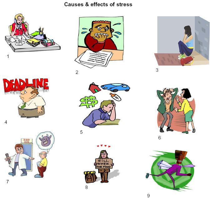 Explaining Pictures: Cause and Effects of stress - OTHERS ...