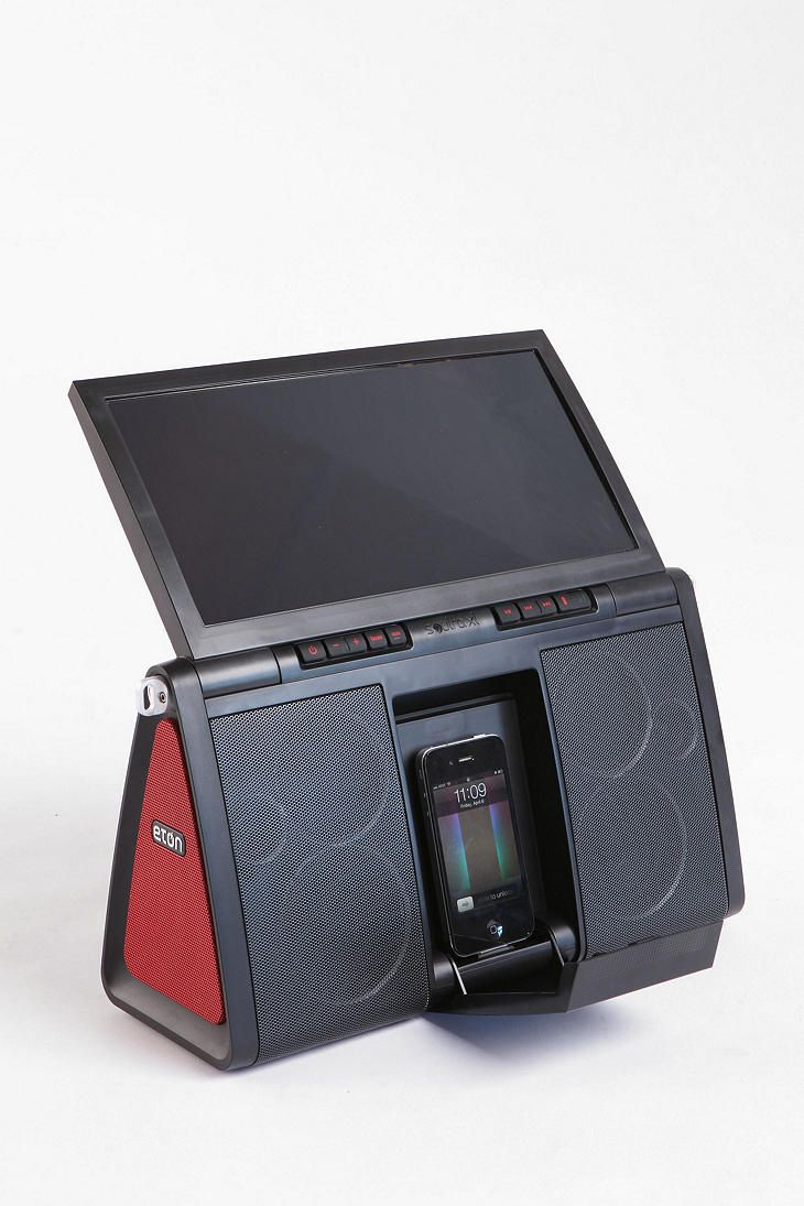 Eton Soulra Xl Solar Powered Speaker Dock Solar Power Speaker Solar
