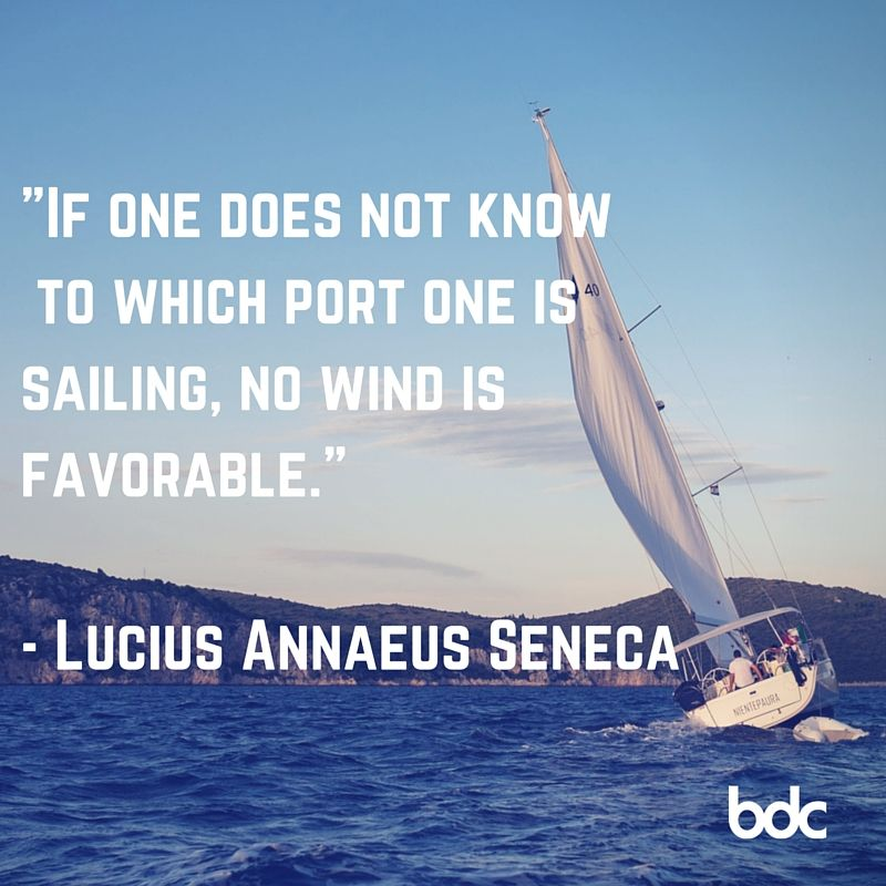 """Inspirational Quotes Sailing: Quote Of The Day: """"If One Does Not Know To Which Port One"""