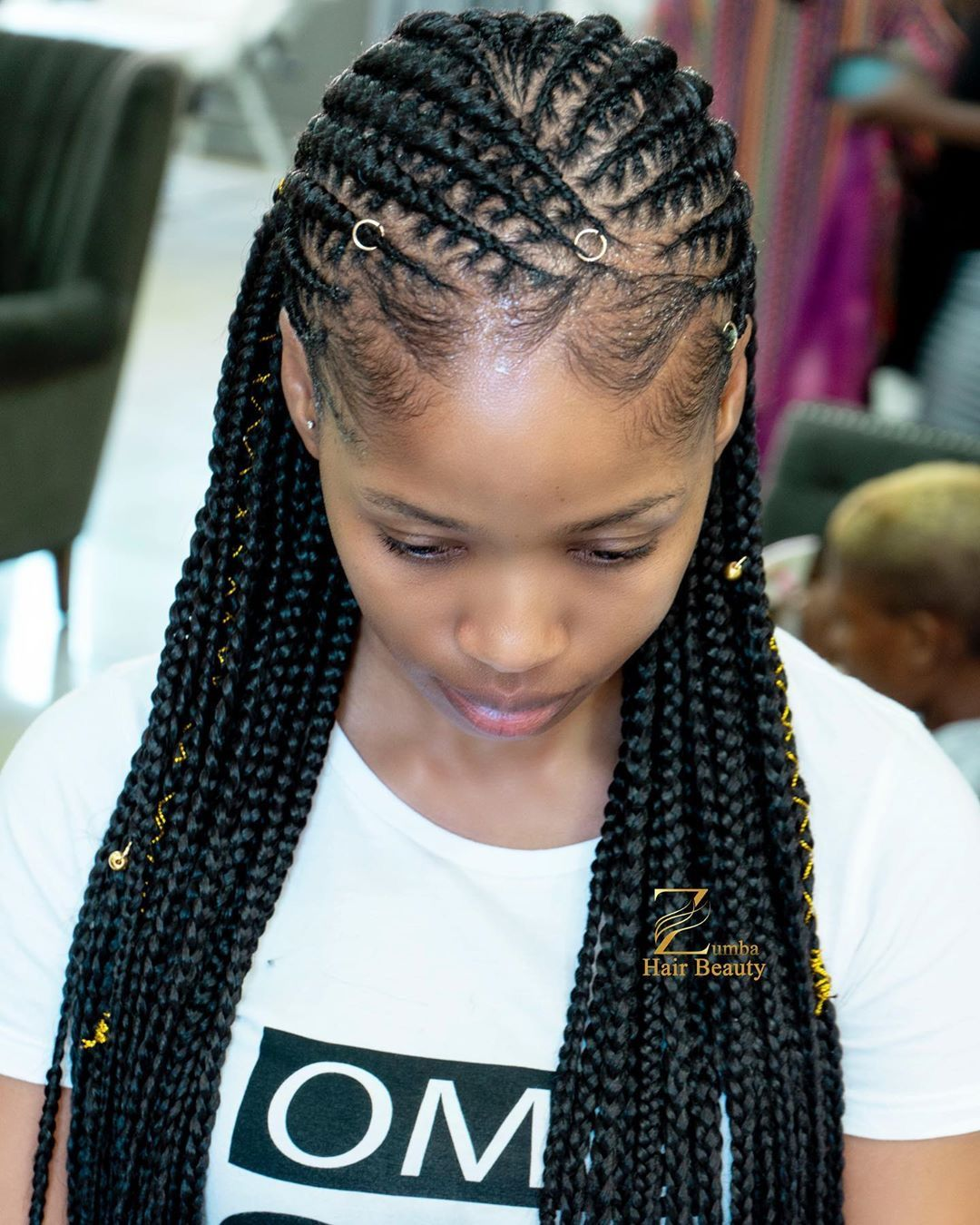 Pin by Styles Rant on Braids in 2020 | Goddess braids ...