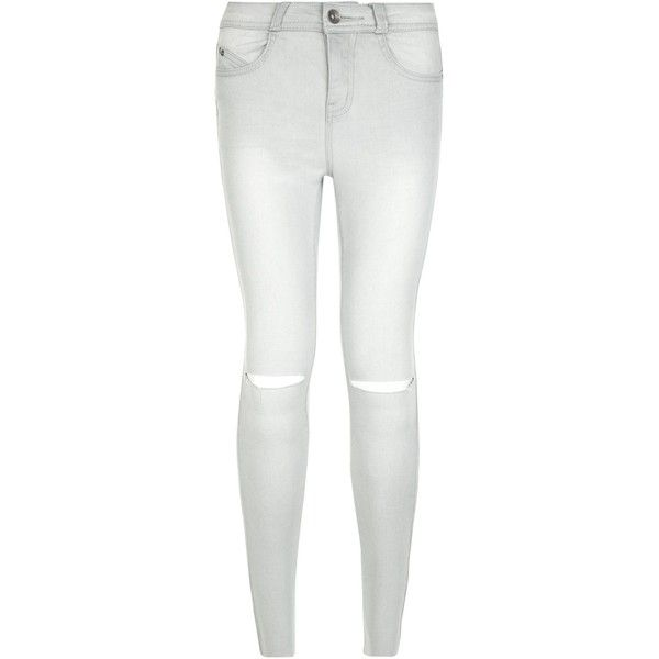 New look skinny jeans with slashed knee