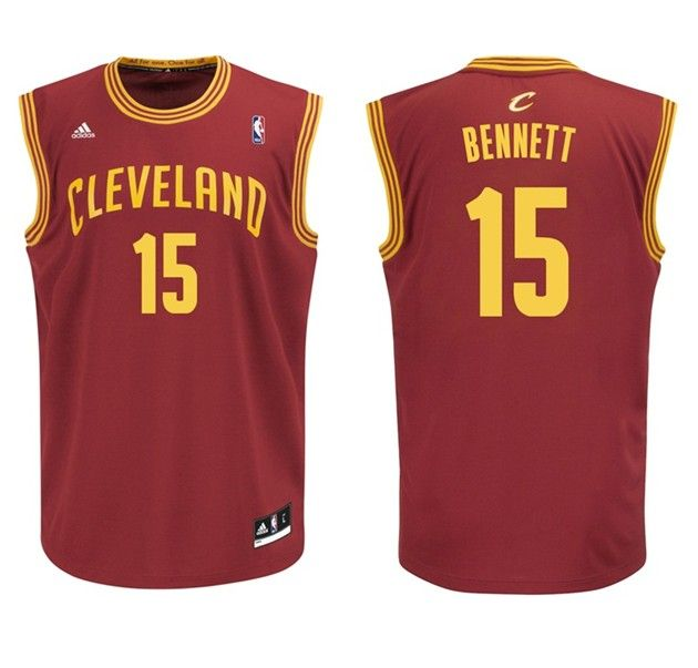 Cleveland Cavaliers #15 Anthony Bennett Red Swingman Jersey
