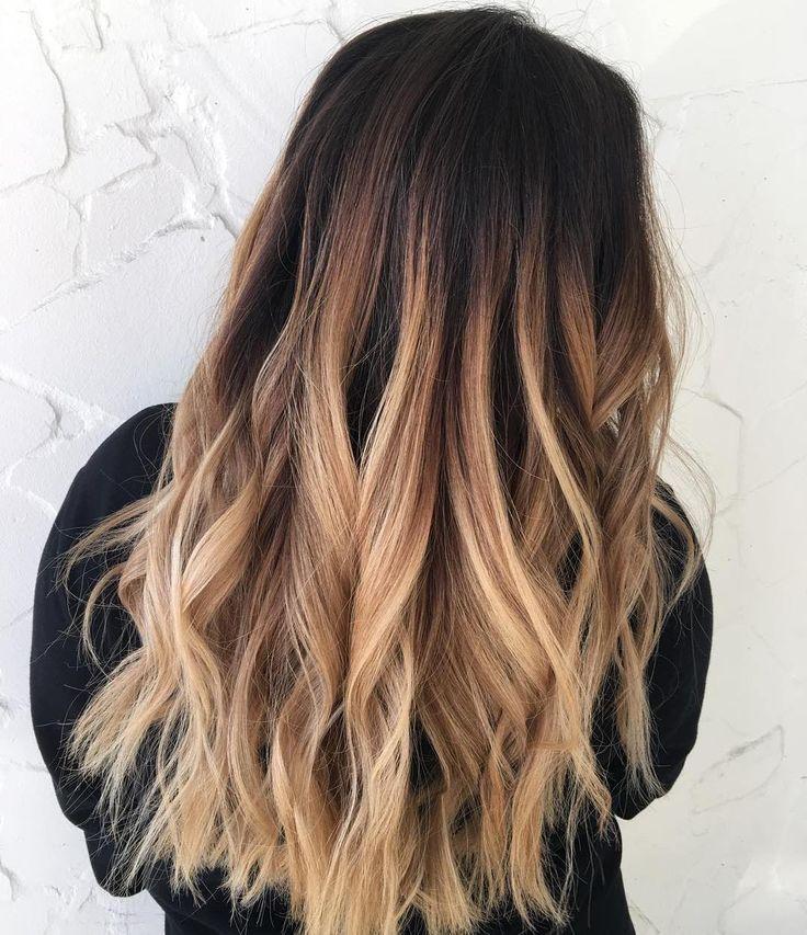 Ombre blond schwarz 5 Ways