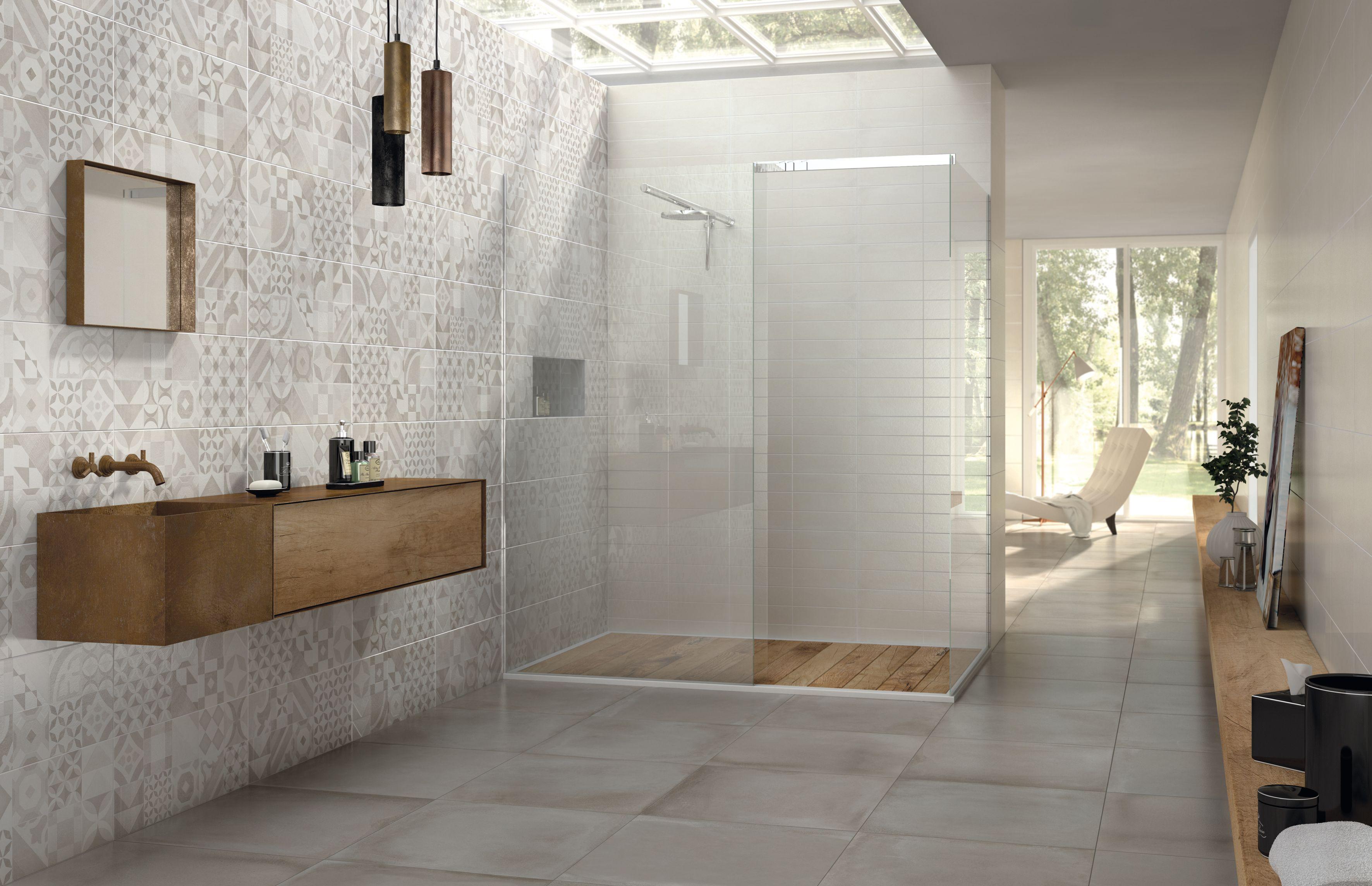 Carrelage décoration mur salle de bain 26x60,5 Sugar Wall ...