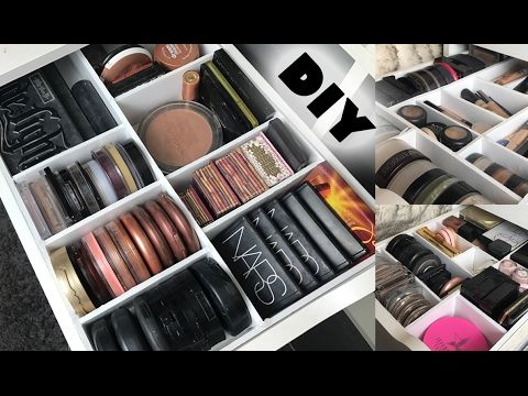 Diy Makeup Drawer Organizers Dividers You Ll Have The Hottest