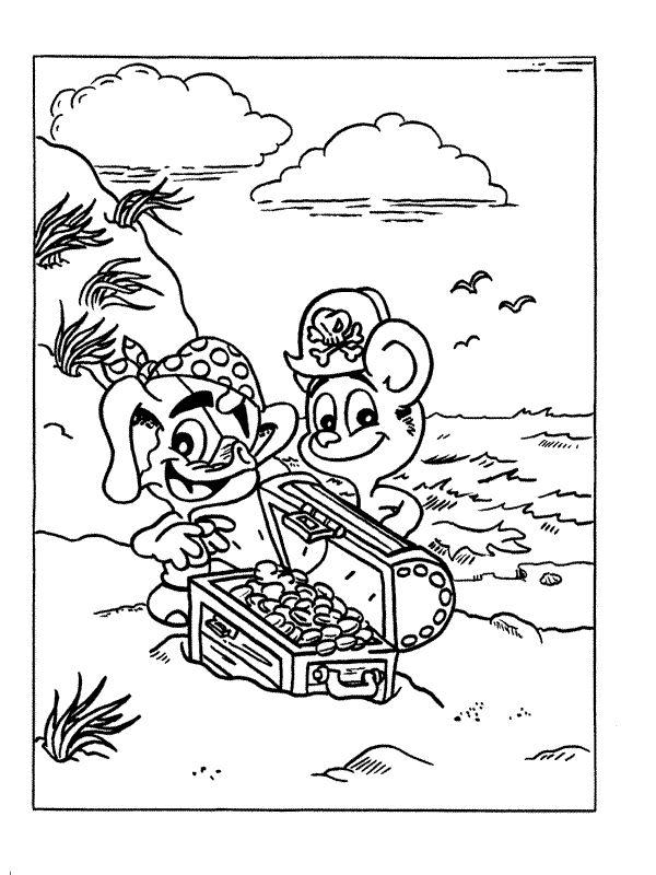 pirat 1 ausmalbilder für kinder malvorlagen zum