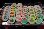 Google Cookies? Those look really good. Probably something that everyone at IO will get. Lucky people