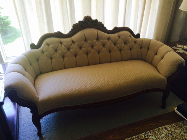 Outstanding Victorian Settee Couches Futons Kingston Kijiji Creativecarmelina Interior Chair Design Creativecarmelinacom