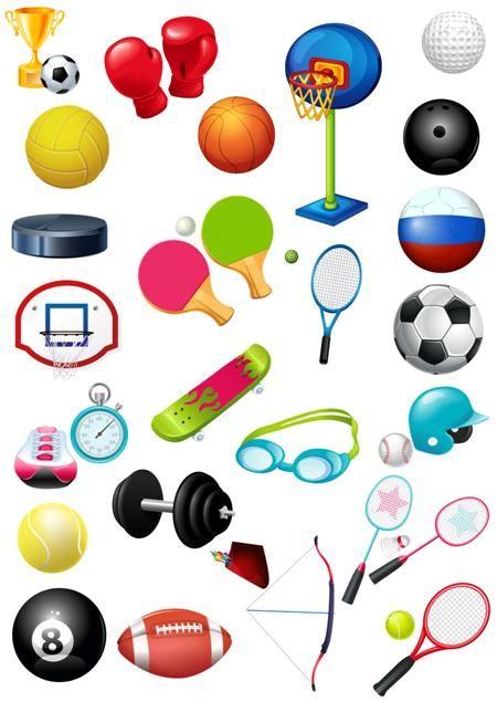 Клипарт Спортивный инвентарь   sport, Olympic games   Sports ... a3b729d3b4a