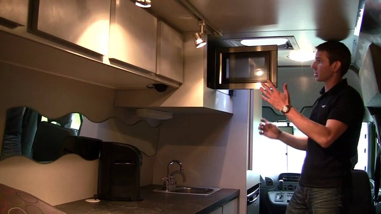 Sprinter Van Rv Conversion Camper Movable Lights