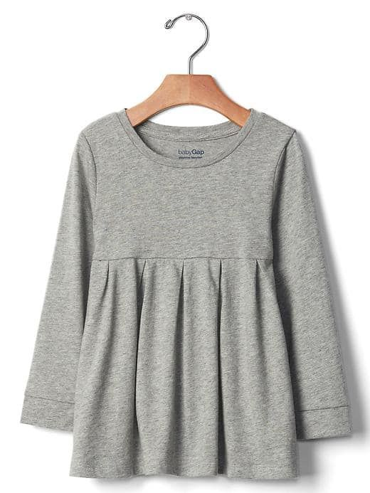 Any long sleeve tops for inside during winter size 2T This is the Jersey Knit Tunic from Gap