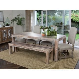 Isabella Gathering Table | Overstock.com Shopping   The Best Deals On  Dining Tables