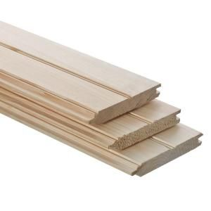 1 In X 6 In X 8 Ft Tongue And Groove Pattern Stock Board 604437 The Home Depot Tongue And Groove Tongue And Groove Ceiling Ceiling Materials
