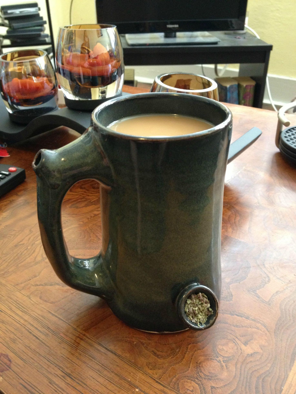 Weed Smoke Bowl Vintage Kush 420 Dark Hiness Kushandwizdom Pipe Good Morning Og Pot Head Coffee Mugs Blaze It