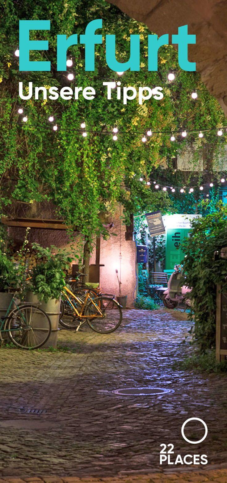 Erfurt ist einfach großartig und auf jeden Fall einen kleinen Städtetrip wert! Lies in unserem Artikel warum! #erfurt #deutschland #städtetrip #städtereisen #reisen #reisetipps #22places