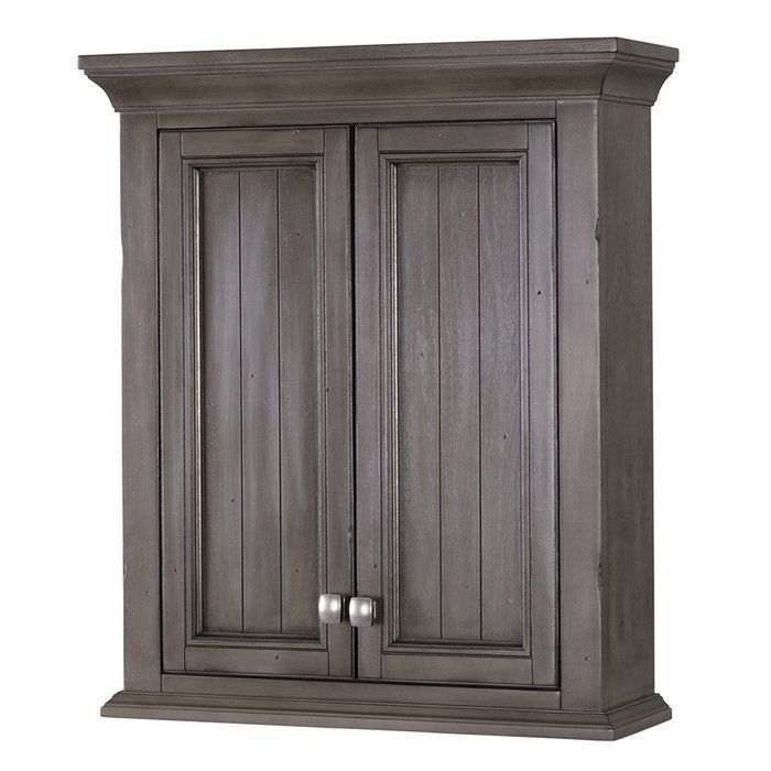 "Nardi 24"" W x 28"" H Wall Mounted Cabinet 