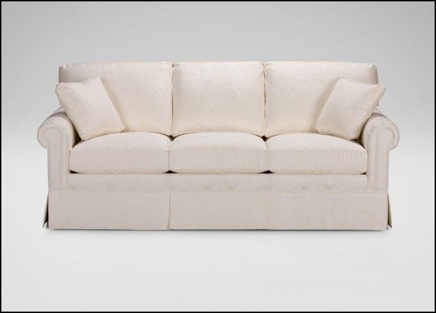 paramount sofa ethan allen white leather and armchairs panel arm living rooms pinterest couch