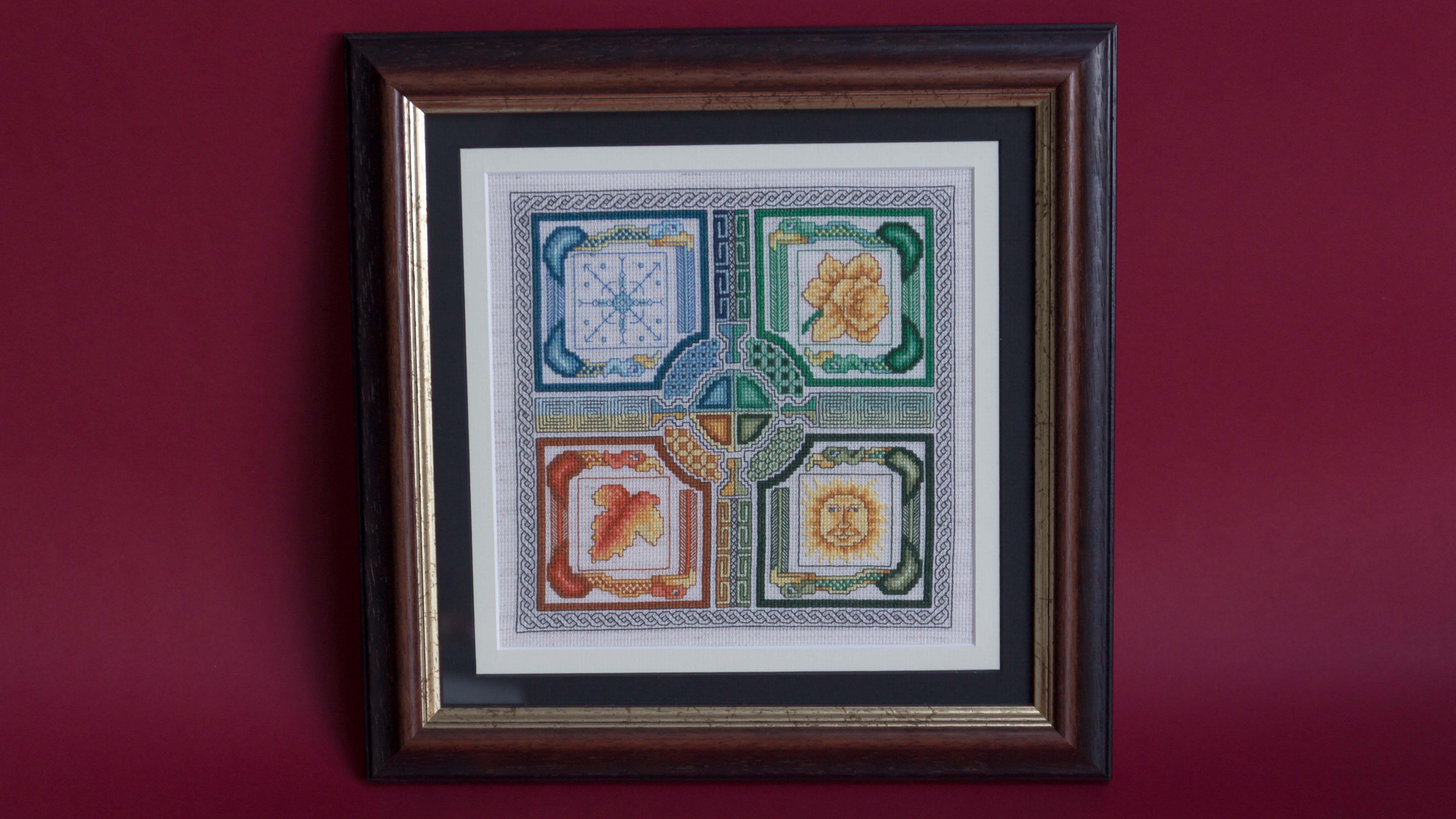 How to Frame Your Cross Stitch | cross stitch | Pinterest