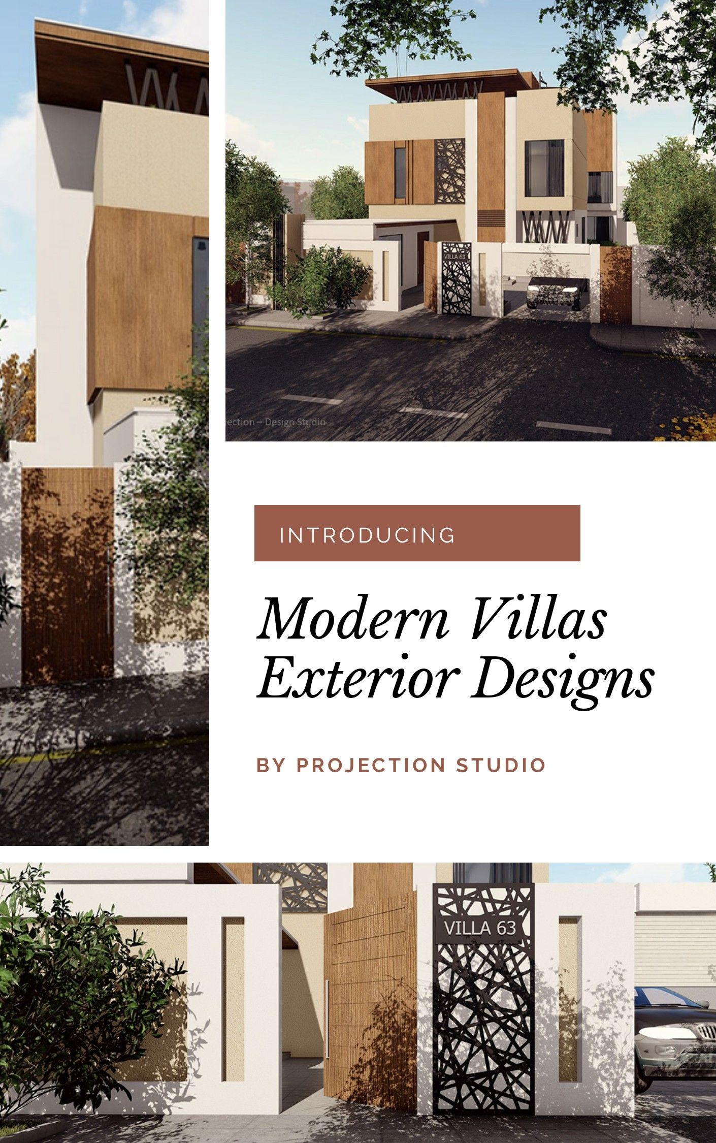 تصاميم فلل حديثة In 2020 Exterior Design Architecture Design Architecture