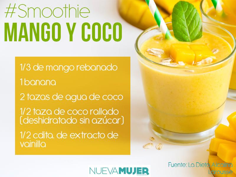 Receta de smoothies de frutas con fibra para bajar el colesterol malo: saludable, fácil y delicioso