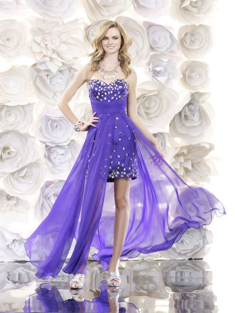 36 Purple Prom Dresses Fit for a Prom Queen   Pinterest   Prom, Prom ...