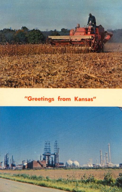 Pin by Amy on KANSAS in 2020 Postcard, Kansas, Strange