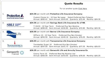 Vam Db Term Life Insurance Quotes Life Insurance Quotes Term Life