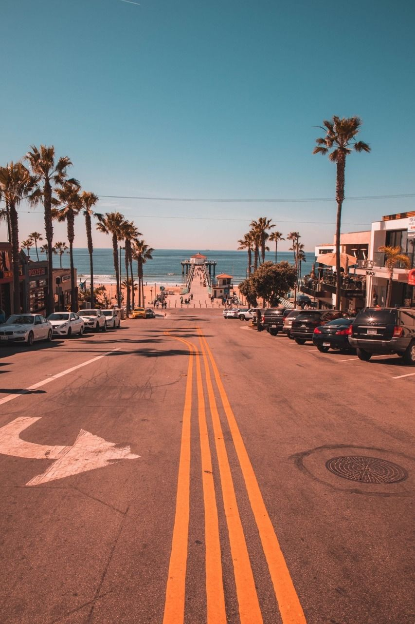 Manhattan Beach California Travel Wallpaper California Beach