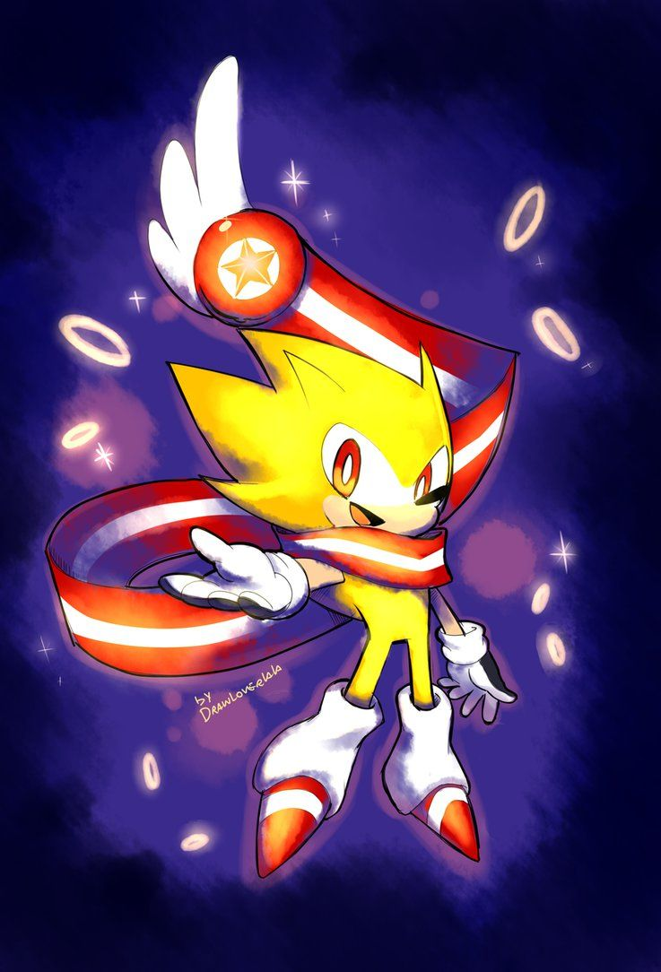 Super Sonic Skyline Sonic Sonic And Shadow Classic Sonic