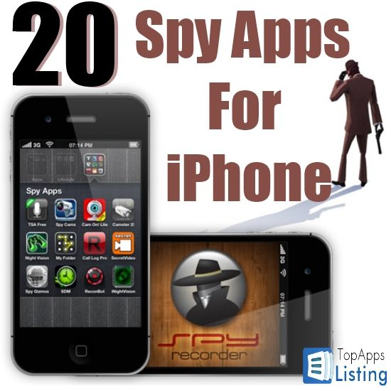 20 Best Spy Apps For iPhone Iphone apps, App, Technology