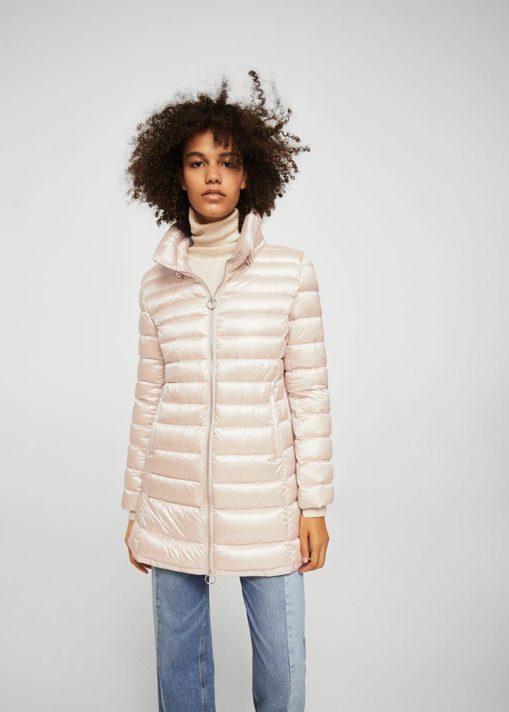 bb653ed44602a Anorak acolchado plumón - Mujer