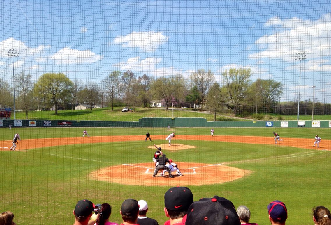 Austin Peay Baseball Game... Baseball games, Baseball